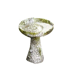 Stone And Flower Birdbath 22 Garden Display