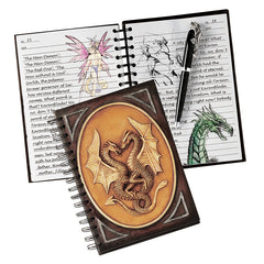 "8.5"" Dragon Sentinels Book of Secrets"