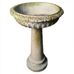 Trish Birdbath Garden Display