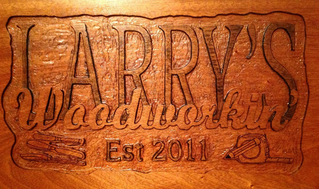 Larry's Woodworkin' recently appeared in The Globe Newspaper