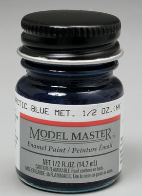 Model Master Arctic Blue Metallic 1/2 oz (TES2702)