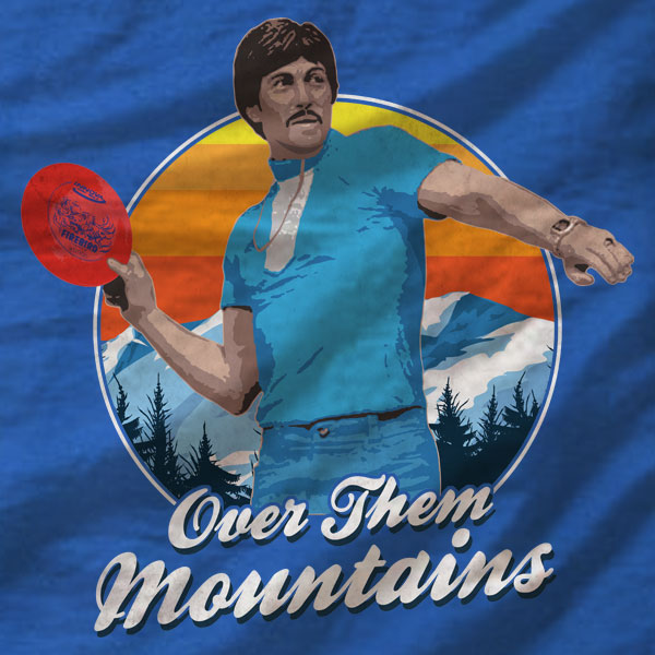 Disc Golf T-Shirt - Uncle Rico - Absurd Ink