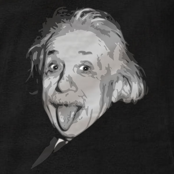 Albert Einstein Tongue Out - T-Shirt - Absurd Ink
