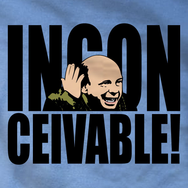 Inconceivable T-Shirt - The Princess Bride - Absurd Ink