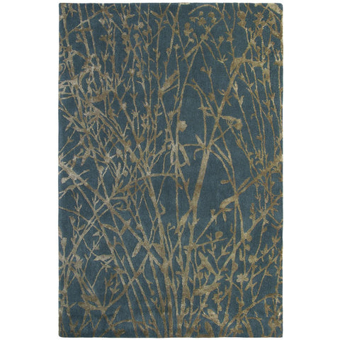 Sanderson Meadow Burnish 46805 Designer Wool / Viscose Rug - Rugs Of Beauty - 1