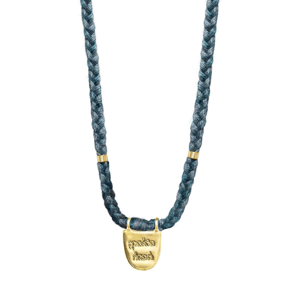"Teal ""Without Limits"" Necklace"