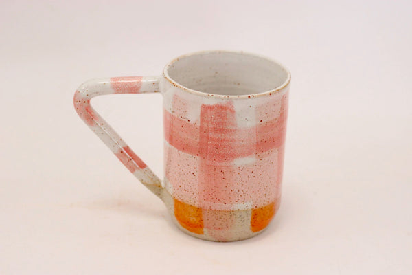 Tall Mug | Orange Check