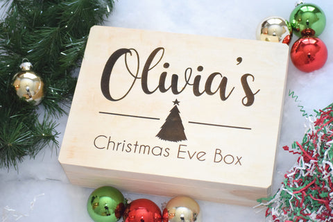Personalized Christmas Eve Box