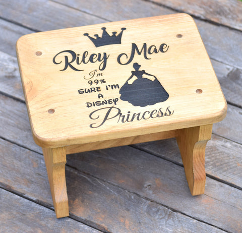 Disney Princess Kids Stepping Stool