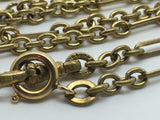 18ct Gold Filled Antique Longard Chain