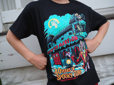 40th Anniversary Haunted Mansion t-shirt