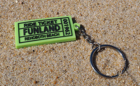 Ticket Keychain