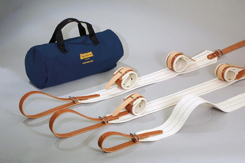 Non-Locking Bed Restraint Kit #1, Leather