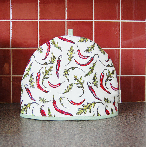 Chilli and Rocket Tea Cosy