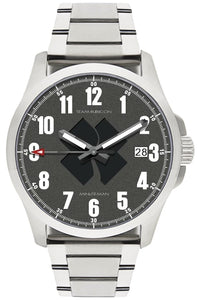 Minuteman  Team Rubicon Brushed Bracelet Black Logo USA assembled wristwatch - The CGA Company