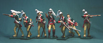 BG183B- AWI, 4th Regiment Light Dragoons fighting dismounted by Beau Geste - Piers Christian Toy Soldiers