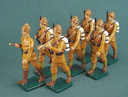 BG213 - Turkish Infantry of WWI by Beau Geste. - Piers Christian Toy Soldiers