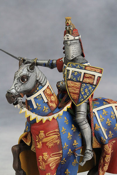 Edward the Black Prince (1330-76) from YZCaesar - Piers Christian Toy Soldiers - 1