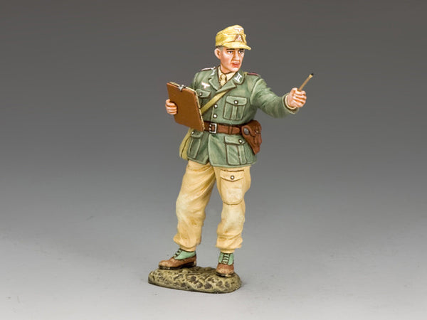 AK110 - The AK Medical Officer, Afrika Korps from King & Country - Piers Christian Toy Soldiers