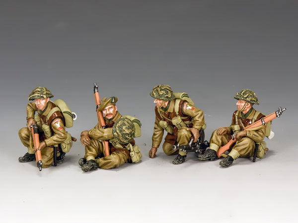 BBB002 - British Tank Riders, Battle of the Bulge British - Piers Christian Toy Soldiers