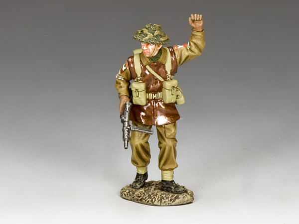 BBB007 - 'Stop' Battle of the Bulge British forces. - Piers Christian Toy Soldiers