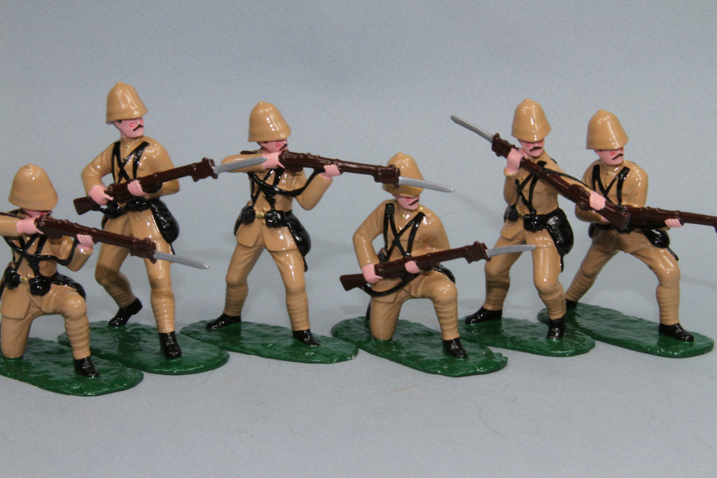 BW3 - King's Royal Rifle Corps, Boer War 1899 - 1902. Made by Regal Toy Soldiers - Piers Christian Toy Soldiers - 1