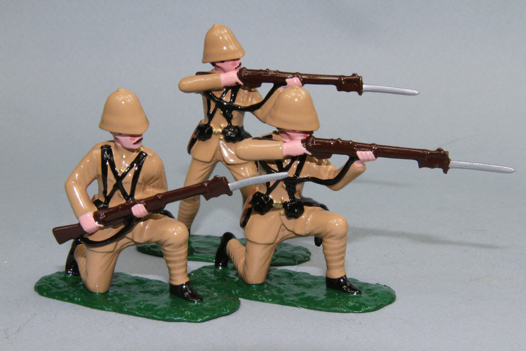 BW3 - King's Royal Rifle Corps, Boer War 1899 - 1902. Made by Regal Toy Soldiers - Piers Christian Toy Soldiers - 2
