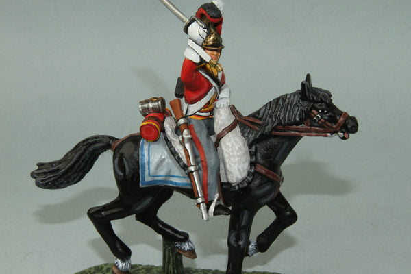 1FG.1 - British 1st Life Guards Trooper from Frontline Napoleonic - Piers Christian Toy Soldiers - 1