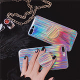 Iridescent Kickstand Cell Phone Case