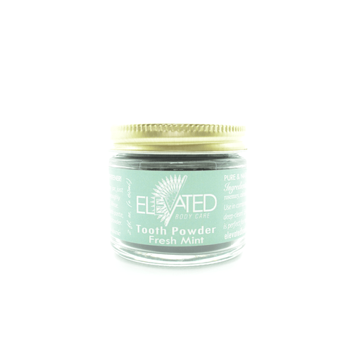 Elevated by Balm Baby Activated Charcoal Tooth Powder