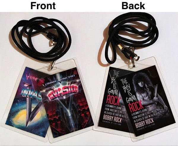 Limited Edition Book and Tour Laminates