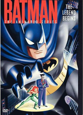 Batman - The Animated Series - The Legend Begins DVD (Free Shipping)