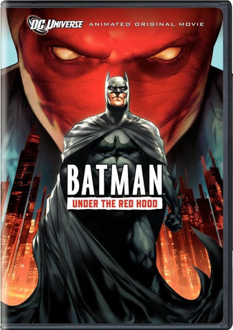 Batman - Under The Red Hood DVD (Free Shipping)