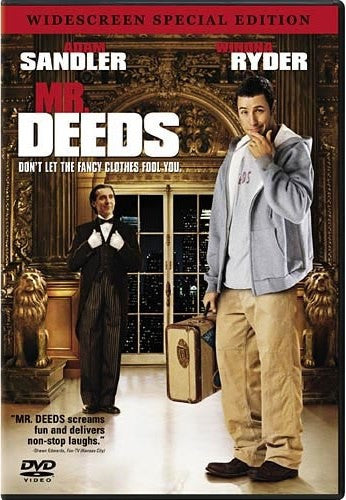 Mr. Deeds DVD (Widescreen) (Free Shipping)