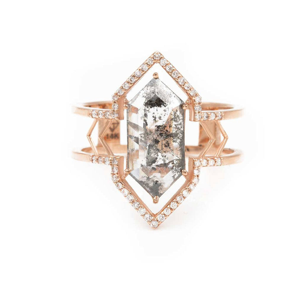 The Hexagon Arrow Marquise