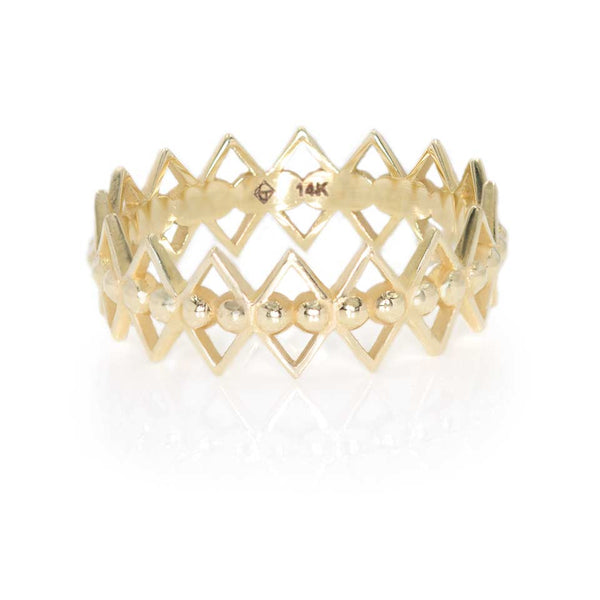 The North Band - Giacomelli Jewelry - 14k Gold