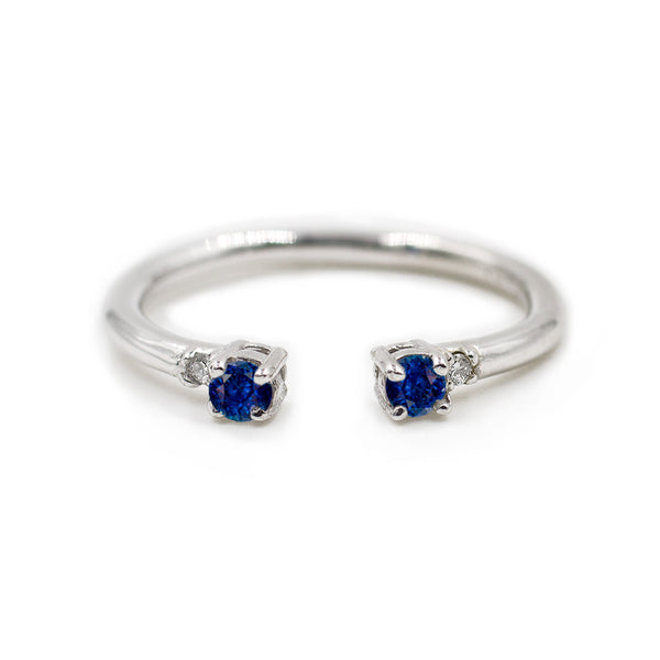 The Ally Petite - Blue Sapphire