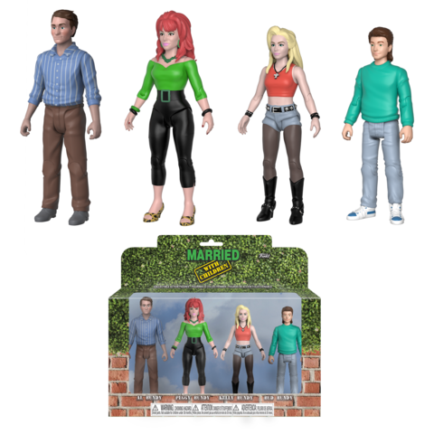 Action Figure - Married with Children 4 Pack [NYCC 2018 Exclusive]