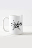 Mug - Creativity fuel - Gift for creatives - howjoyfulshop