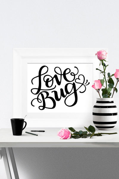 Art print - Love bug - howjoyfulshop