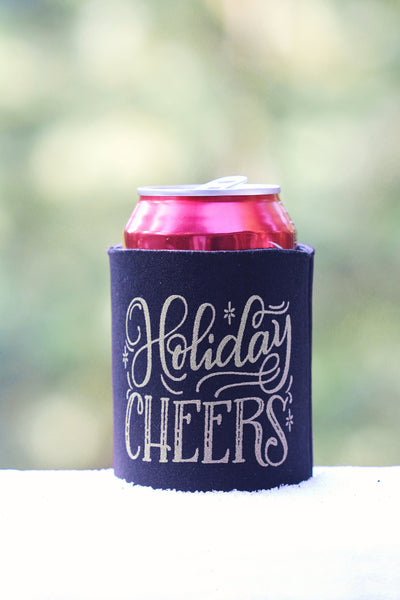 Can cooler - Holiday Cheers - howjoyfulshop