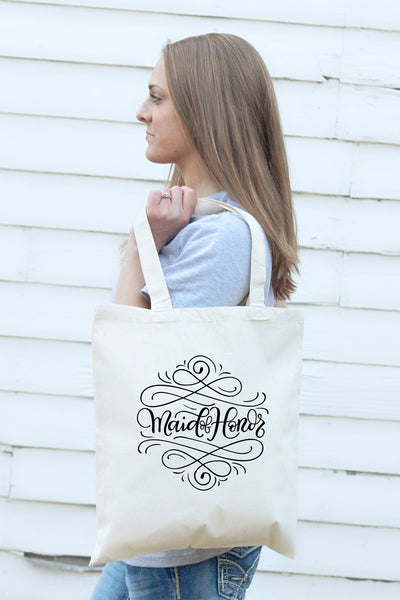 Small Tote bag - Maid of Honor - howjoyfulshop