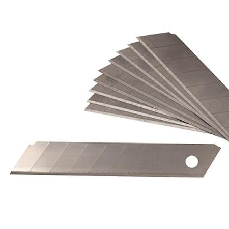 snap off blades heavy duty 18mm 10 pack
