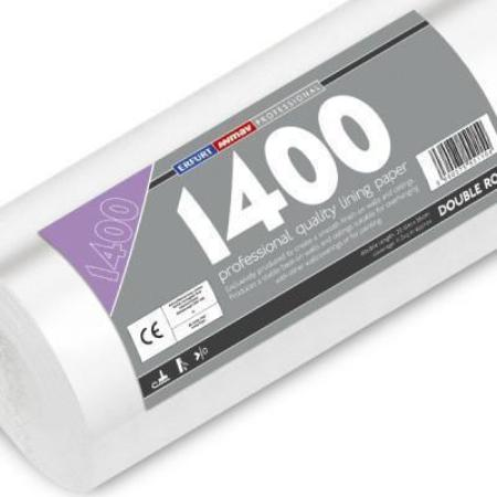 Professional 1400 Grade Lining Paper - Double Length