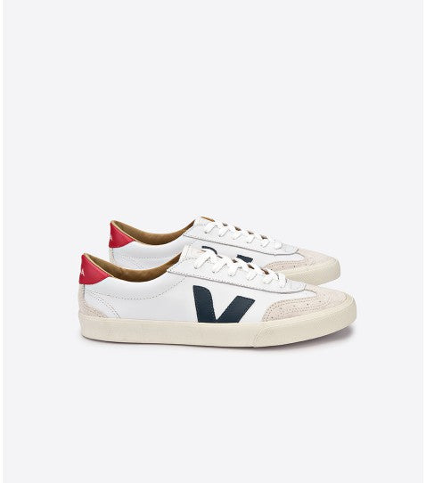 VEJA Volley Canvas White Nautico Pekin