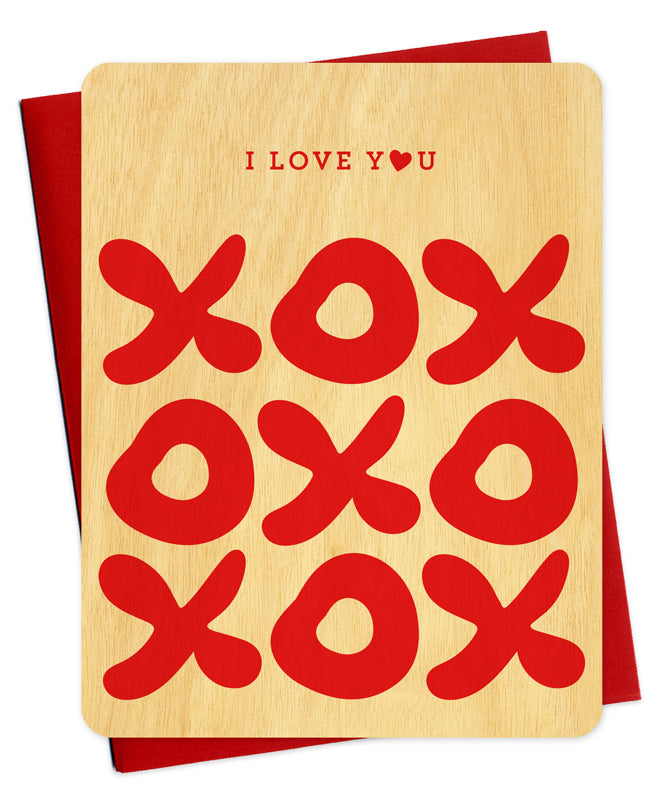 XOXO Love Greeting Card