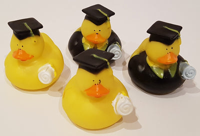 Graduation Rubber Duckies - Pack of 4 Ducks
