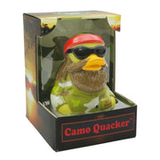 Camo Quacker RUBBER DUCK Costume Quacker Bath Toy by CelebriDucks