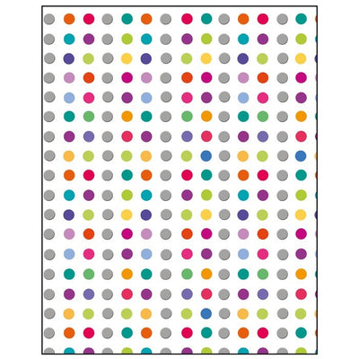 Coloured Spots Gift Wrapping Paper