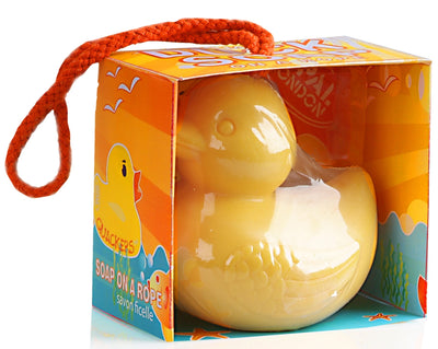 Rubber Duck Soap on a Rope - 300gm  By Opal